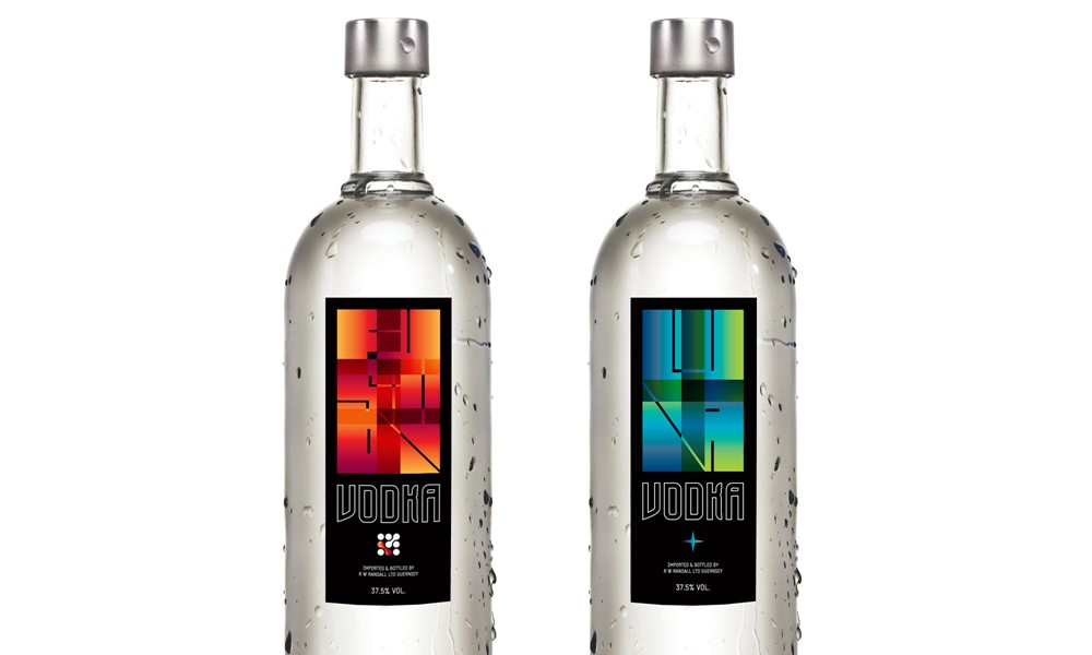 Fusion & Luna Vodka Labels