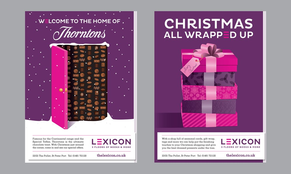 Festive Lexicon Adverts