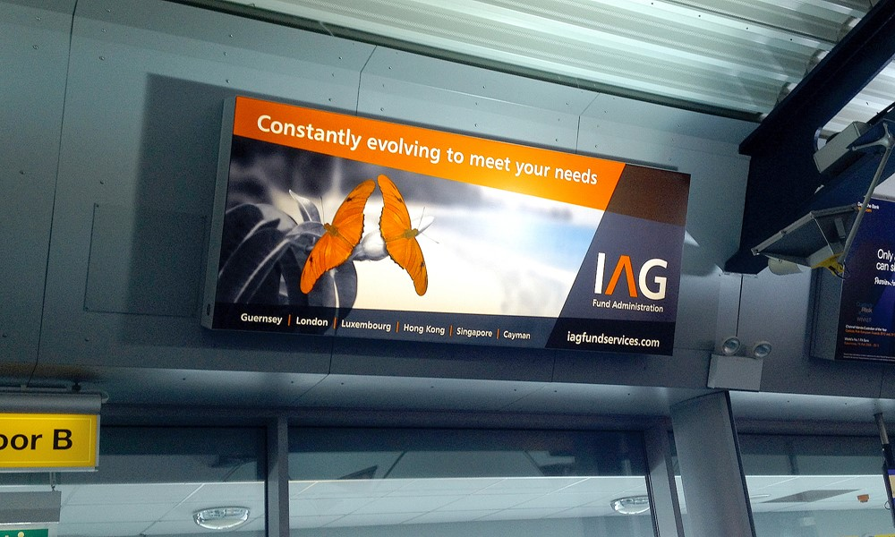 IAG Airport Poster 2014