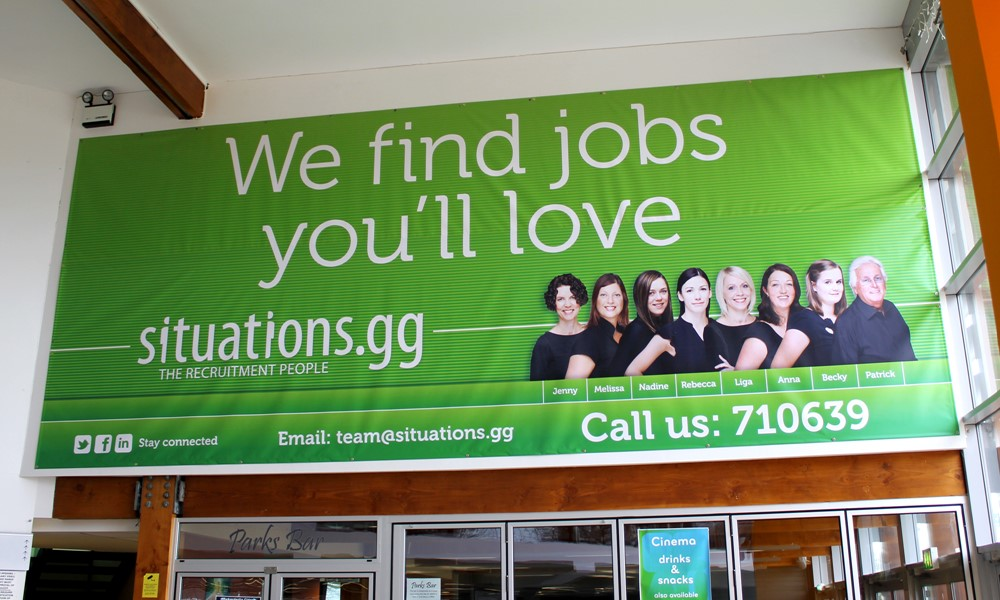 Situations Recruitment Beau Sejour Poster