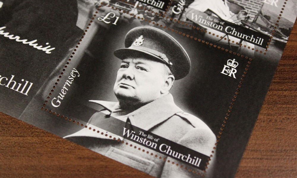 Guernsey Post Winston Churchill Stamps