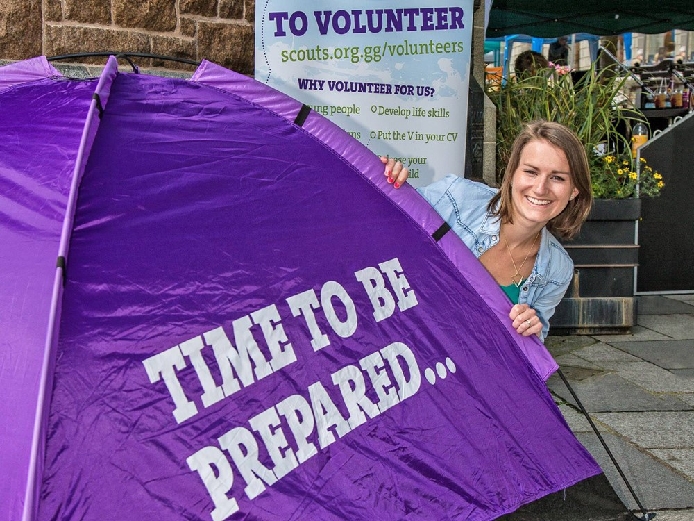 Guernsey Scouts Volunteer Campaign