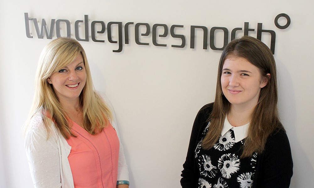 Michelle and Chloe join 2DN