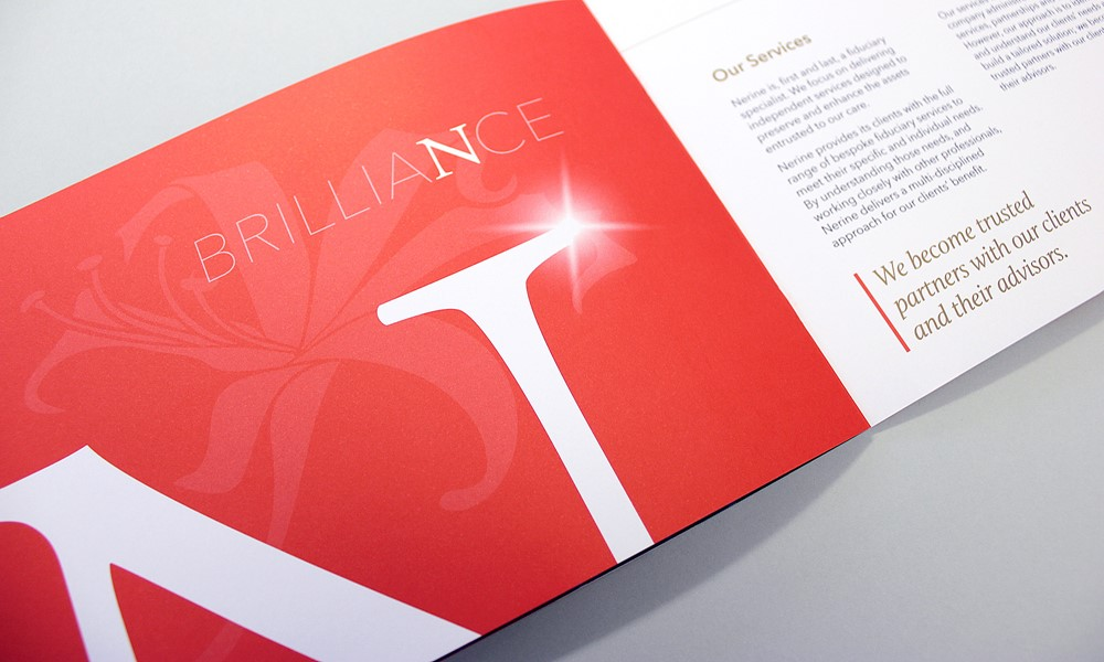 Nerine Fiduciaries Brochure & Website Design