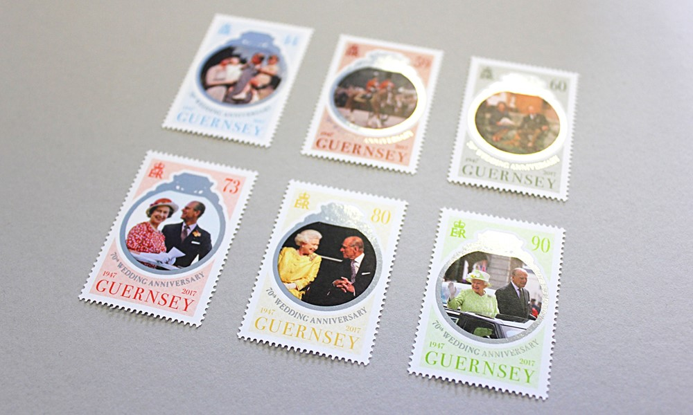 The Queen & Prince Philip 70th Wedding Anniversary Stamps