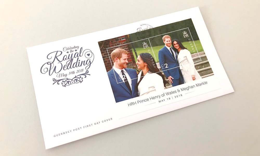 Guernsey Post – Prince Harry & Meghan Markle Royal Wedding Stamps