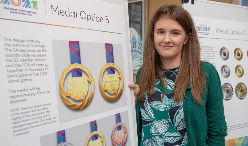 Chloe wins 2021 Guernsey Island Games Medal Competition