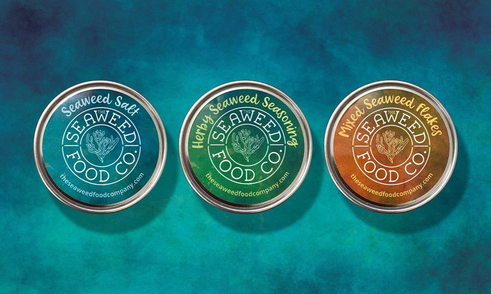 The Seaweed Food Co. Branding Project