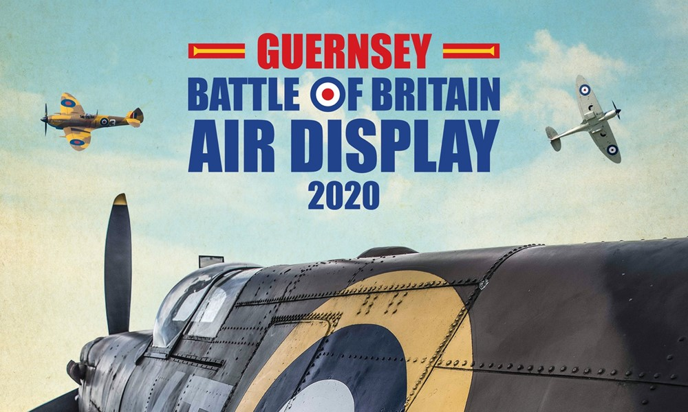 Guernsey Battle of Britain Air Display 2020